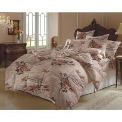 Изискано спално бельо с олекотена завивка - 100% Микрофибър - Megan