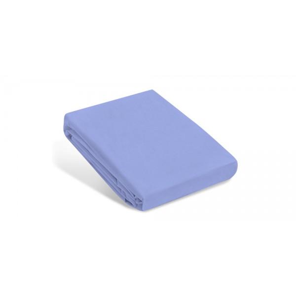 Водоустойчив протектор за матрак за бебе - 100% Тенсел Памук - Supersoft Blue