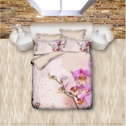 3D Спално Бельо Orchids