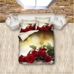 3D Спално Бельо Roses