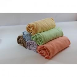 Универсален чаршаф с ластик - 100% памучно трико - Elegant Comfort