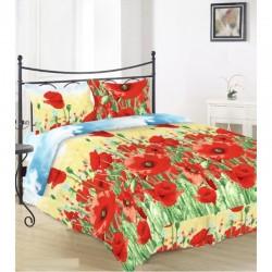 Комплект спално бельо Памук Ранфорс - Flowers