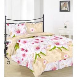 Комплект спално бельо Памук Ранфорс - Spring
