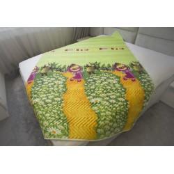 Детско покривало за легло Funny Masha