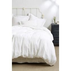 Бяло спално бельо - 100% Памук -  Tiara