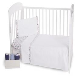 Уютно спално бельо за бебе - 100% Ранфорс Памук - Baby Love