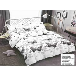 Качествено спално бельо 3D - 100% Сатениран Микрофибър - Butterflies