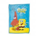 Супер меко одеяло за дете Sponge Bob