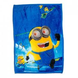 Супер меко одеяло за дете Minions