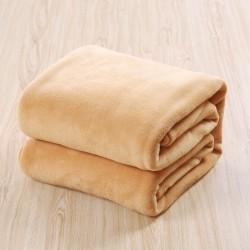 Пухкаво одеяло - 100% Полар - Beige