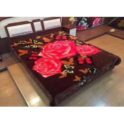 Ултра меко одеяло - Полиестер - Roses&Butterflies