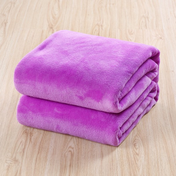 Пухкаво одеяло - 100% Полар - Violet
