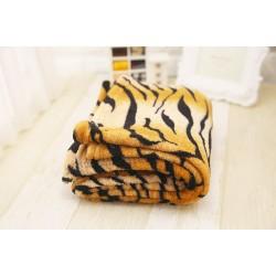 Меко одеяло - 100% Полар - Wild Tiger
