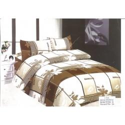 Стилно спално бельо - 100% Микрофибър - Adia