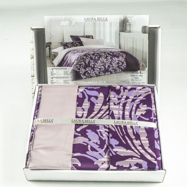 Спално бельо - 100% Бамбук&Сатен - Salsa Lila