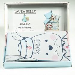 Бебешки комплект за легло - 100% Памук Ранфорс - Sailors