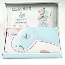 Бебешки комплект за легло - 100% Памук Ранфорс - Pony