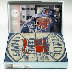 Спалeн комплект - 100% Памук Ранфорс Премиум - Basketball