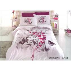 Първокласен спален комплект - 100% Памучен Сатен - Alexandra