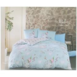 Спално бельо 2 в 1 - завивка и шалте - 100% Памук Ранфорс -  Brette