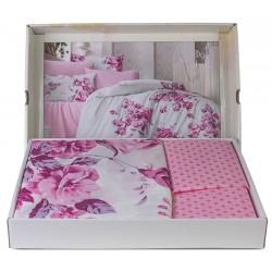 Елегантно спално бельо - 100% Памук Ранфорс Премиум - Amplas