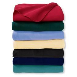 Едноцветно одеяла за ресторант или градина - 100% Полар - Joy