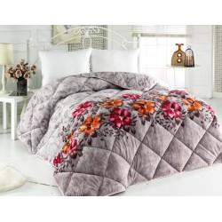 3в1 плюшено одеяло, олекотена завивка и шалте - 100% Силиконов Пух - Sophie