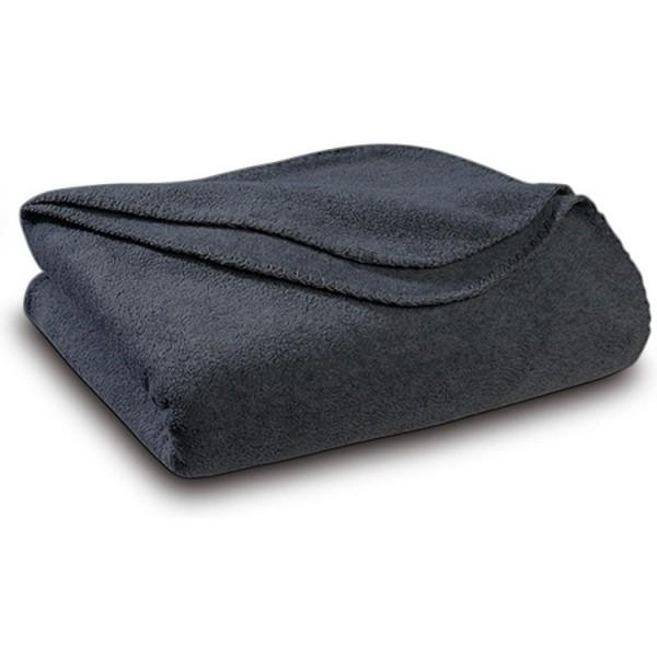 Уютно одеяло - 100% Полар - Grey