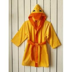 Луксозен халат за дете - 100% Фин Памук - Duck