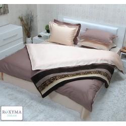 Комплект спално бельо от сатениран памук Venge/Cream