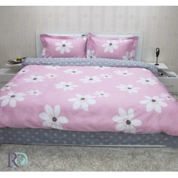 Спален комплект бельо - 100 % памук - Мишел