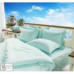 Стилно спално бельо - 100% Памучен Сатен - Aqua