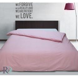 Оригинален плик за олекотен юрган - 100% Памук - Pink