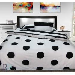 Прекрасен комплект спално бельо с изображение 100% Памук Dots&stripes