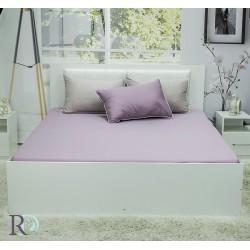 Удобен чаршаф - Памучен Сатен - Purple
