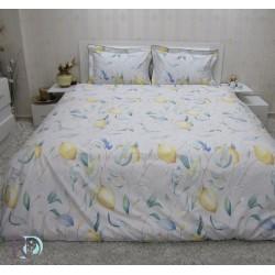 Оригинален комплект спално бельо от памучен сатен Nature