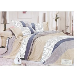 Стилен спален комплект - 100% Микрофибър - Nevaeh