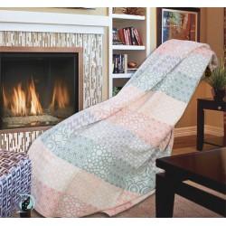 Одеяло с пачуърк - 100% Памук - Scarlet