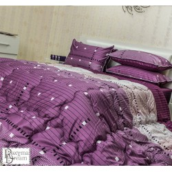 Спално бельо - 100% Памук Перкал - Лавандула