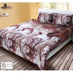 Спално бельо с олекотена завивка - 100% Памук Перкал-  Лондон