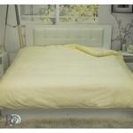 Комфортен плик за олекотена завивка - 100% Памучен Сатен - Еcru