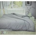 Стилен плик за олекотена завивка - 100% Памучен Сатен - Gray
