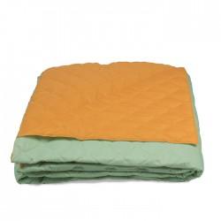 Универсално шалте с две лица Green&Orange