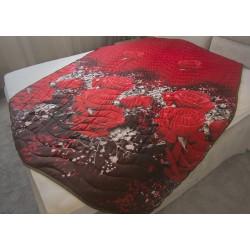 Атрактивна кувертюра от микрофибър Red