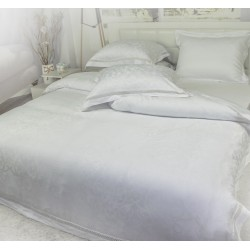 Дизайнерско спално бельо - Модал - Anhella White