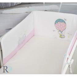 Оригинален обиколник за бебешка легло - 100% Фино Трико - Funny Balloon