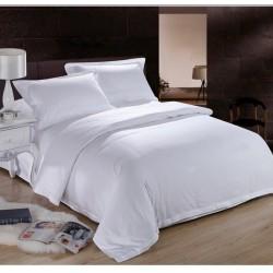 Висококачествено памучно спално бельо - White Expanse