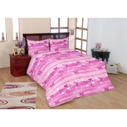 Дизайнерски комплект спално бельо - 100% Памук - Rhapsody in pink